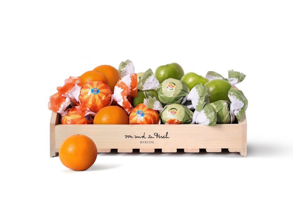میوه هایی با بسته بندی خوشمزه و جذاب برای کودکان